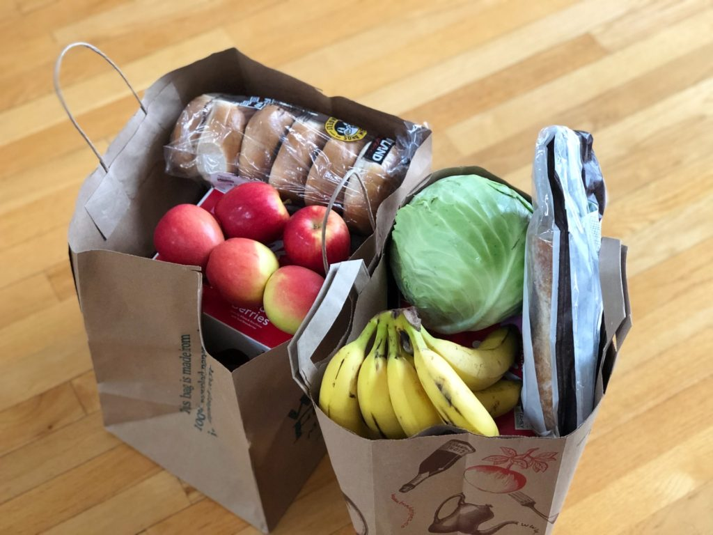 The cost of an average grocery basket in SA cities