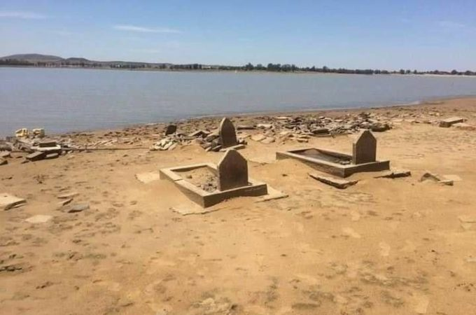 Part of Vaal Dam confirmed to be built over graves