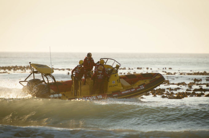 Man dies after falling overboard in Table Bay