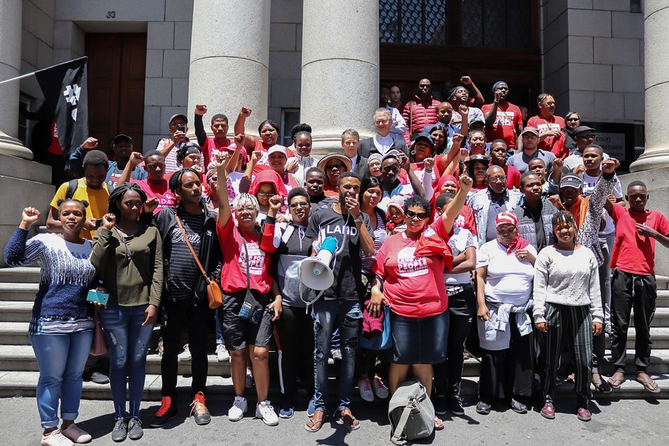 Reclaim The City descends upon Sea Point to celebrate Tafelberg judgment
