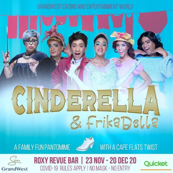 Cinderella gets a Cape Flat's Twist set to debut next week