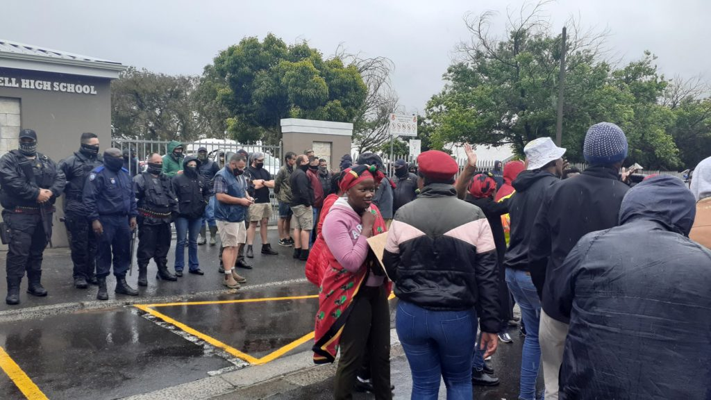 WC Minister of Education condemns violent clashes outside Brackenfell High