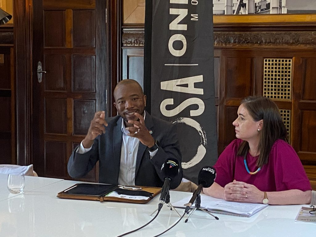 Mmusi Maimane to launch SA's first basic income grant pilot