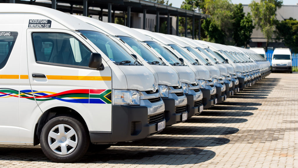 Western Cape taxis