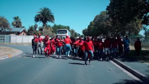EFF descend on Brackenfell High School