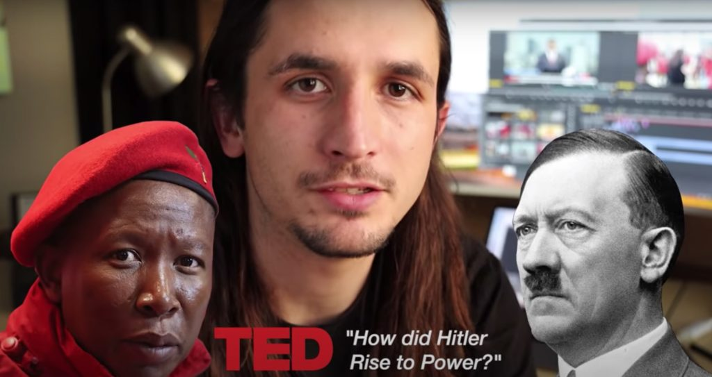 The Kiffness compares Julius Malema to Hitler