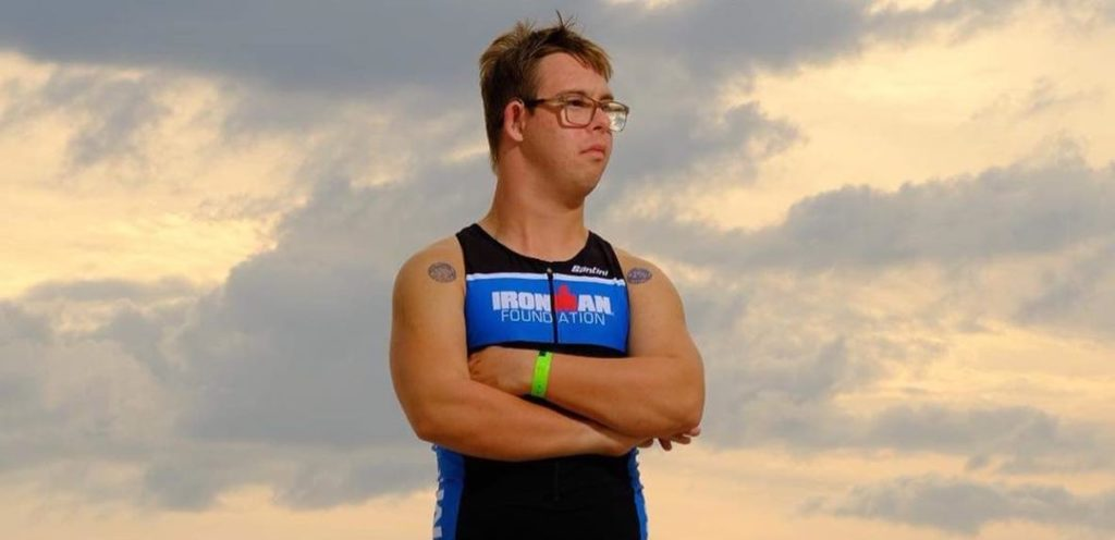 First person with Down syndrome to complete an Ironman triathlon