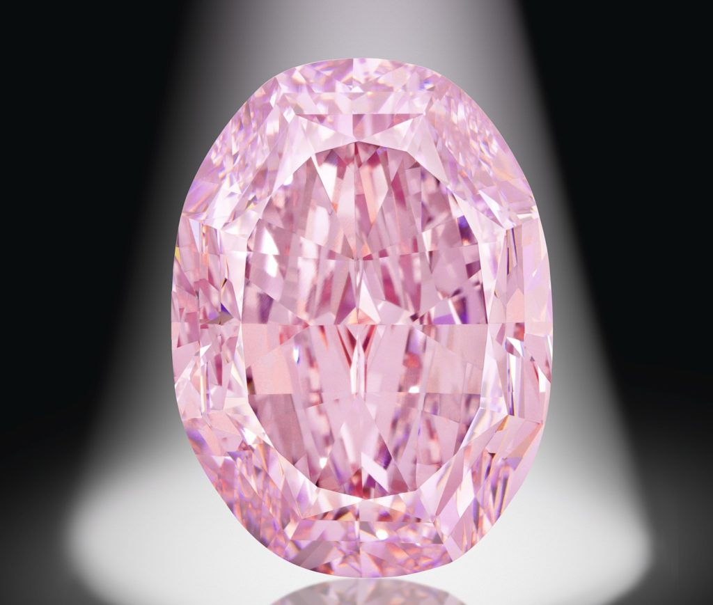 Largest pink diamond ever auctioned sells for R418-million