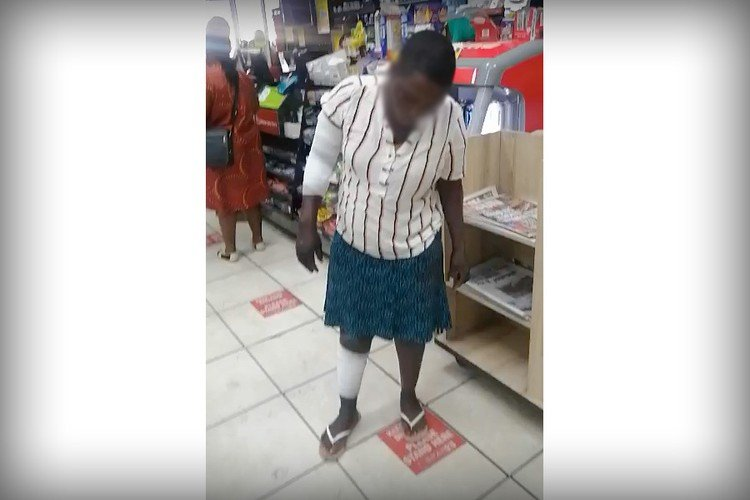 Woman doused with spirits and set alight after stealing food worth R25
