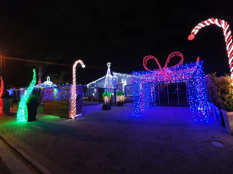 The Christmas spirit is alive in this festive Brackenfell home
