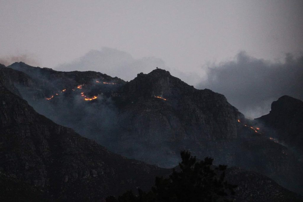 Three wildfires break out in the Cape Winelands