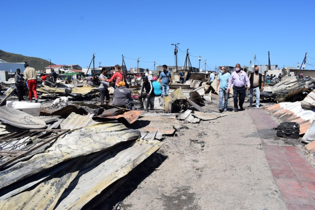 Likely cause of Masiphumelele fire uncovered
