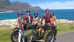 Christmas ETC: Win a 4-hour mini-Peninsula sidecar outing worth R3750