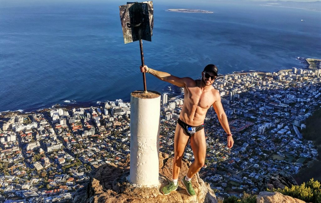 Capetonian summits Lion's Head in Speedo to raise funds for cancer