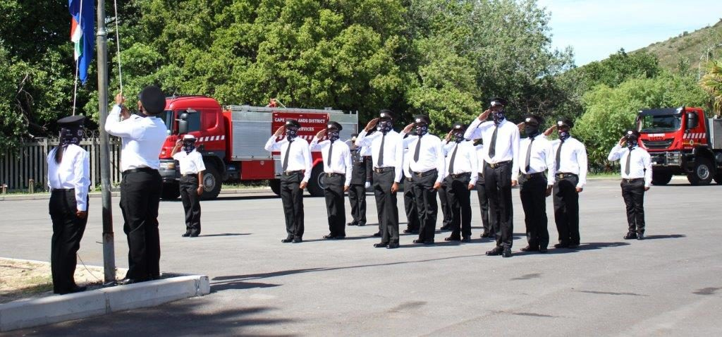 Fire season launched with graduation of 16 level 2 firefighters