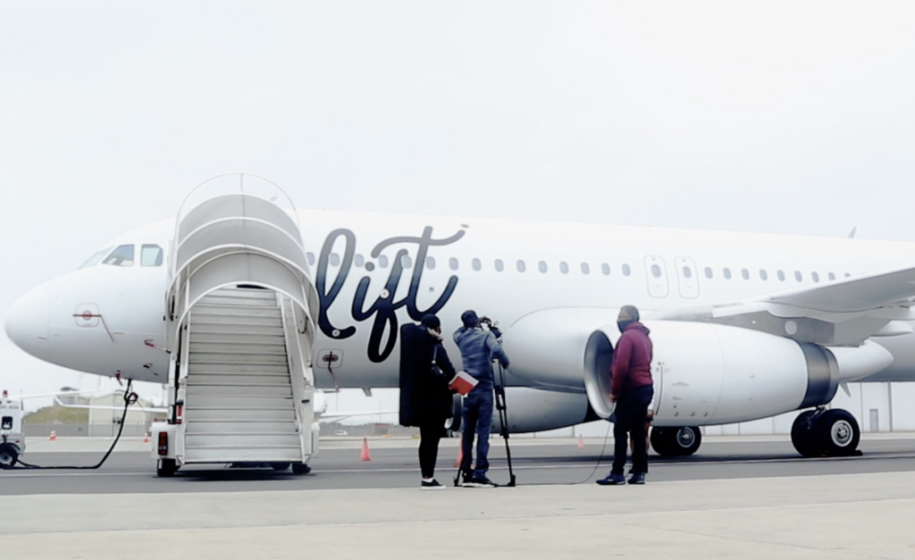 New airline lifts off