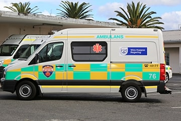 Cape Town paramedic shot in chest in Mitchells Plain while on duty