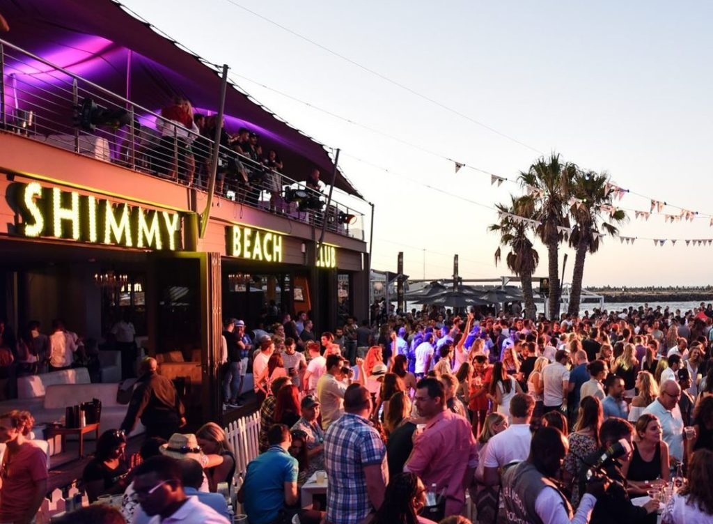 Shimmy Beach Club closed until Summer 2021/2022