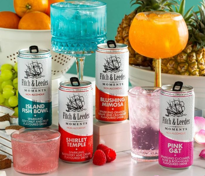 New Fitch & Leedes Moments – the 0% alcohol answer to #DryJanuary