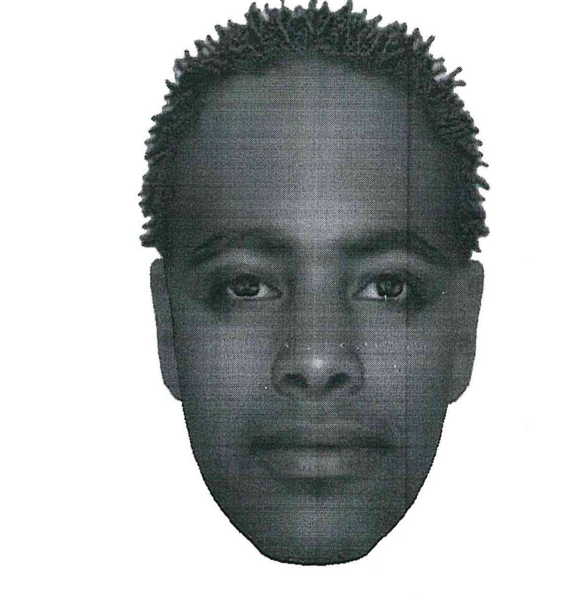 If you recognise the suspect depicted in the attached identikit which was compiled by a facial composition expert, kindly contact Crime Stop on 08600 10111 as he is wanted for rape.