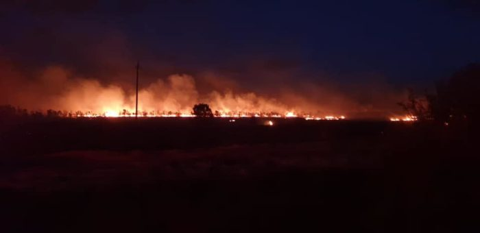 Two fires break out in the Overberg