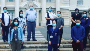 The work does not end for Groote Schuur's healthcare team