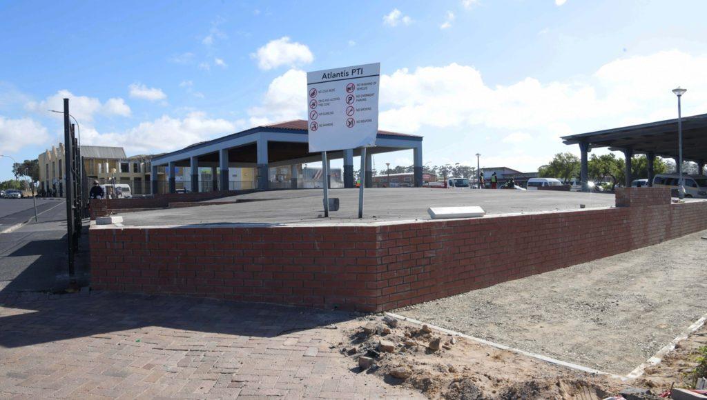 Atlantis and Blaauwberg get new and improved sidewalks
