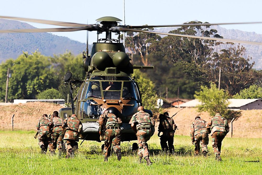 SANDF patrol Cape Winelands