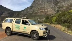 Three hikers rescued from ledge above Newlands Forest