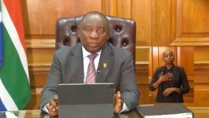 President Ramaphosa leaves SA under lockdown Level 3
