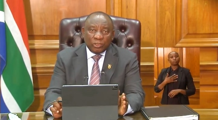 President Ramaphosa leaves SA under lockdown Level 3