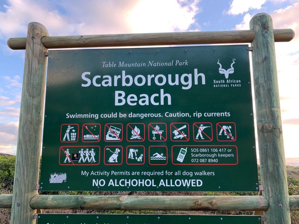 SANParks and SAPS investigate Scarborough beach incident