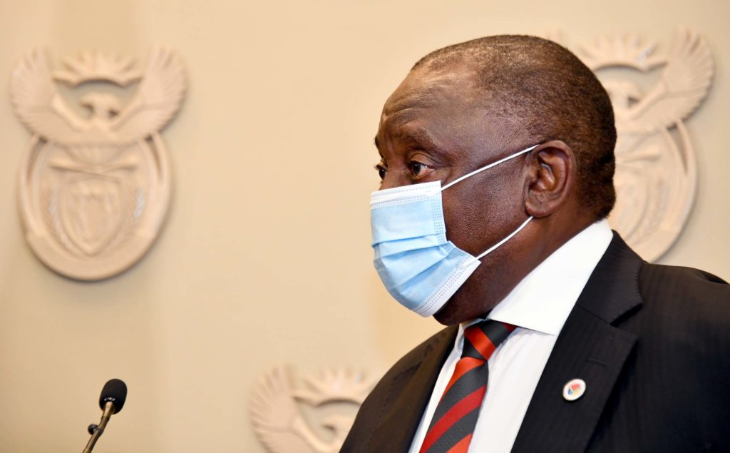 President Cyril Ramaphosa to address the nation at 8pm