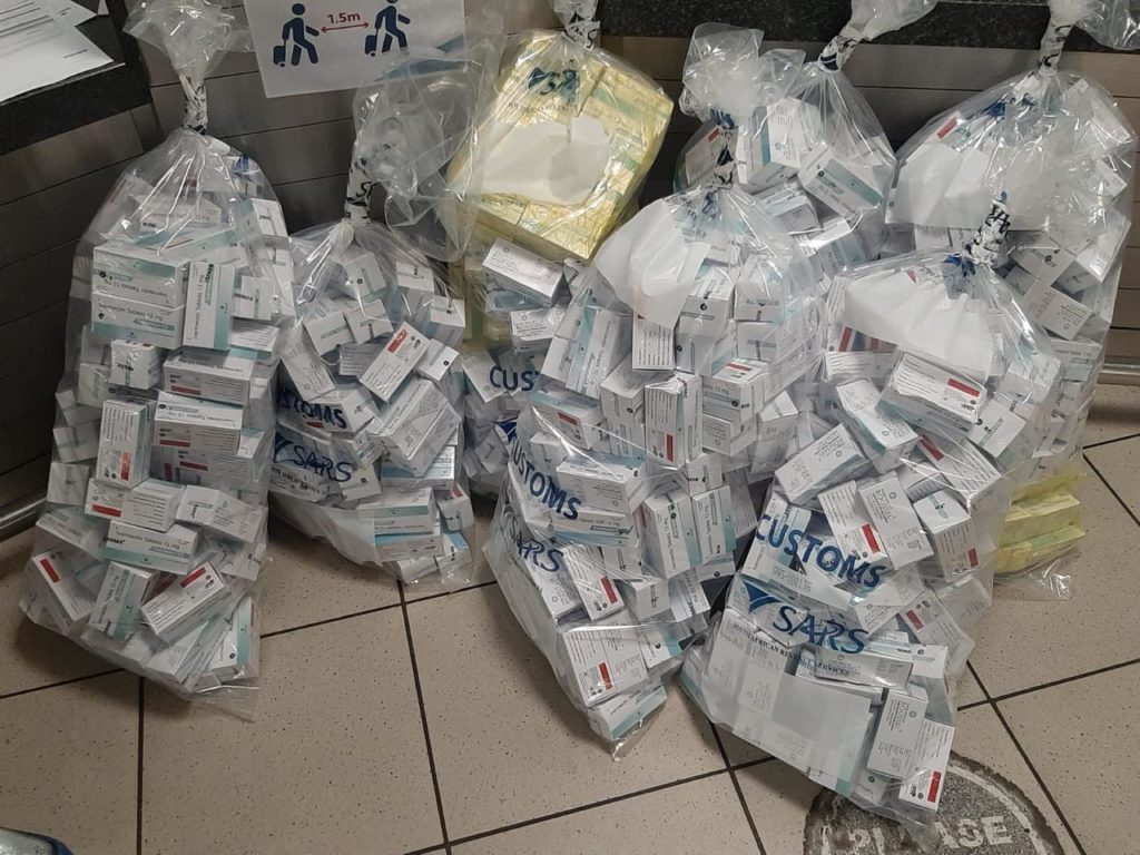 Ivermectin worth R6-million seized at OR Tambo International Airport