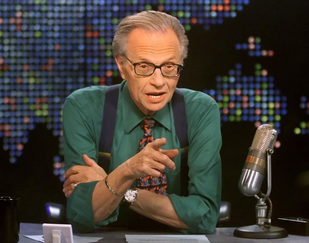 US broadcaster Larry King dies