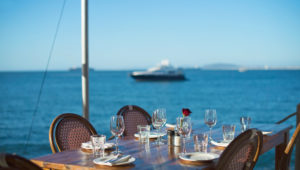 WIN: A three-course meal for two at Grand Africa Café & Beach