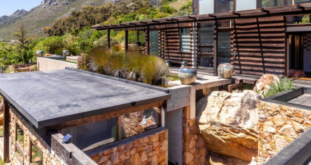 Eco-friendly house for sale in Hout Bay