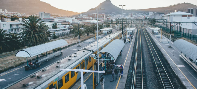 Woman dies after being struck by train in Cape Town