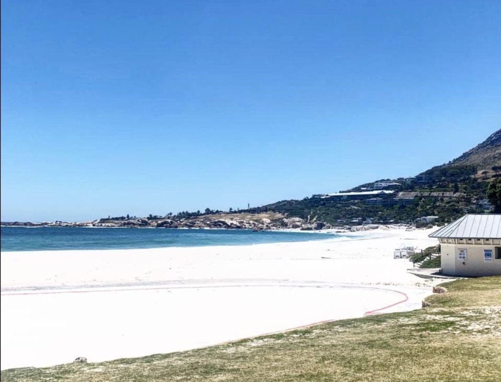 Cape Beaches eerily empty on New Year's day