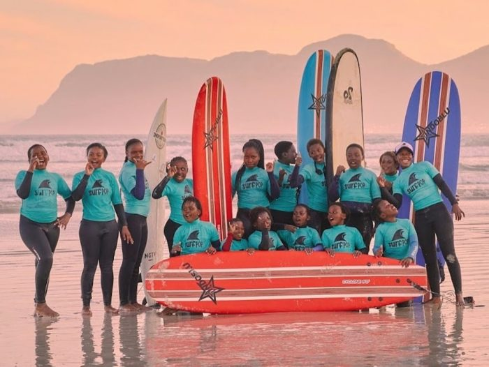 All-girls surf programme empowers Masiphumele youth