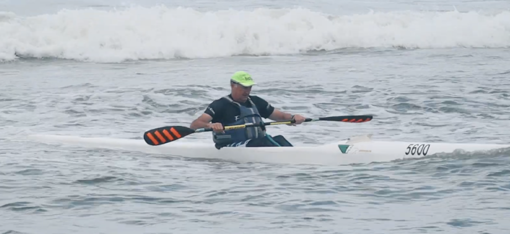 Richard Kohler's kayak has a name... and the winner is