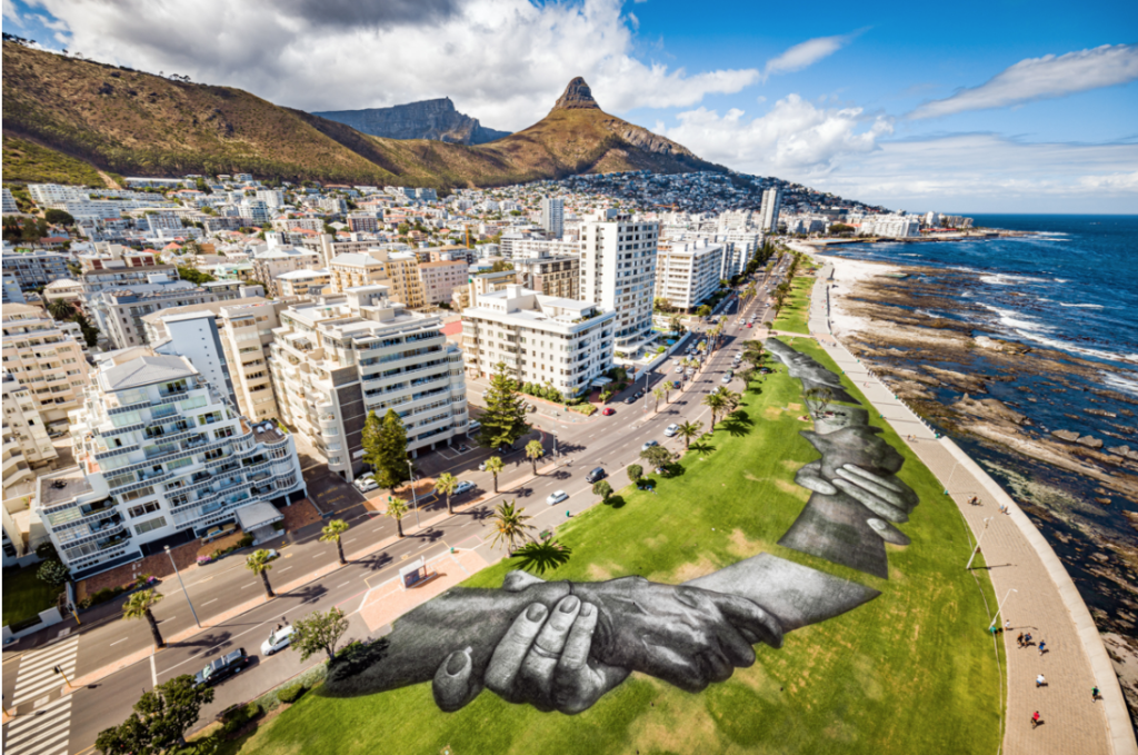 Beyond Walls project features longest human chain in the world