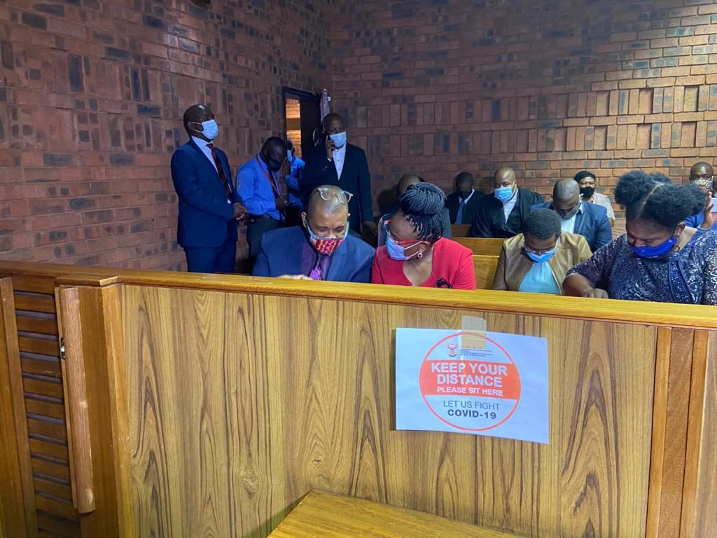 Public protector appears in court for lying under oath
