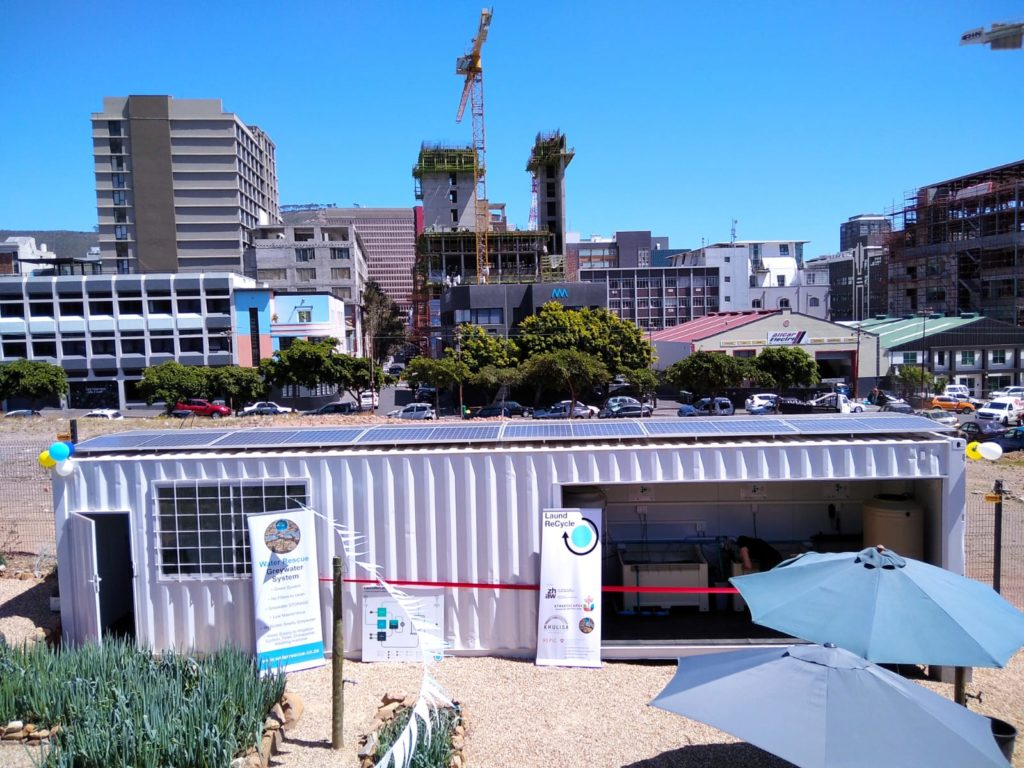 SA's first off-grid eco-friendly laundromat opens in Cape Town