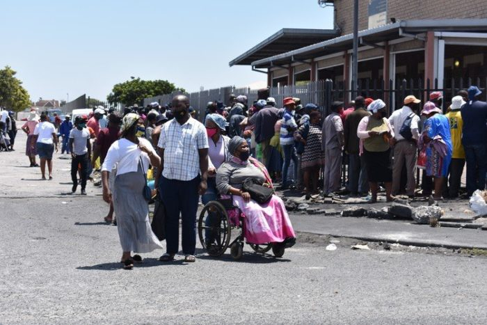 Sick people queue outside SASSA offices as disability grants lapse