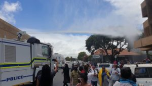Police probe use of water cannon against social grant applicants