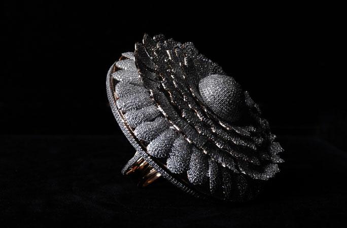 Diamond ring breaks Guinness World Record for most stones