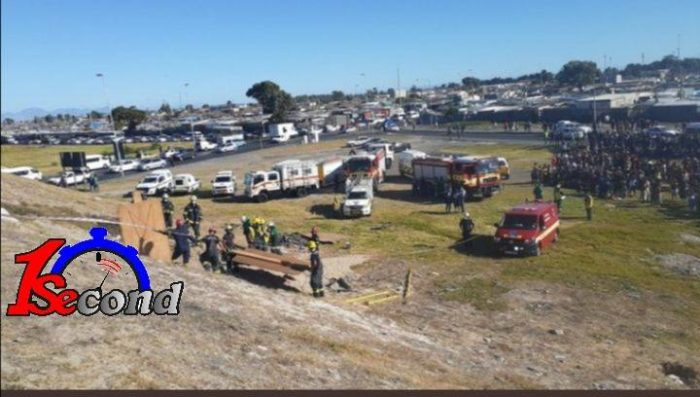 Three minors fall down hole near N2