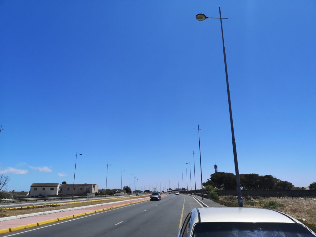City offers R5000 reward for information on Strandfontein Road streetlight theft
