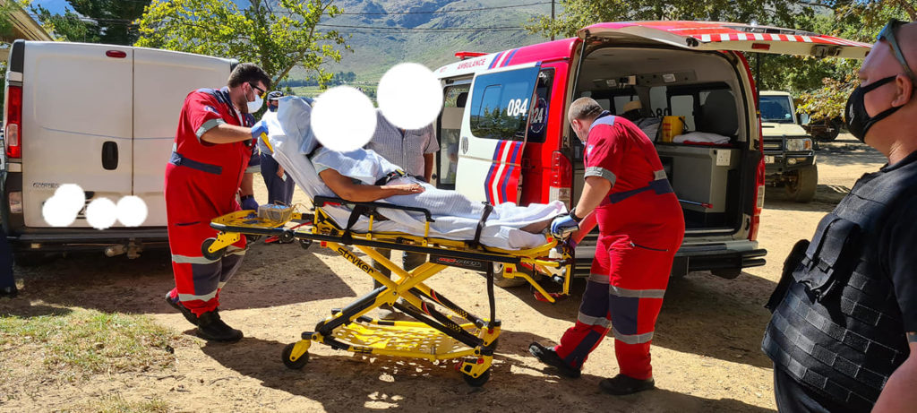 Woman suffers severe head injury after attack on farm near Paarl